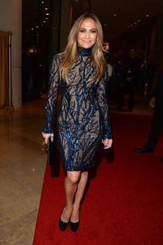 Jennifer Lopez in Zuhair Murad at the GLAAD Media Awards.