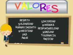 Educando en valores a nuestros hijos