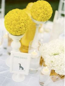 Love these centerpieces but in a different color!