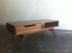 Mid century inspired coffee table, via Etsy.