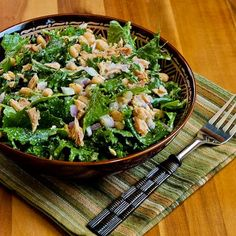 Kalyn's Kitchen: Recipe for Baby Kale, White Bean, and Tuna Salad with Lemon