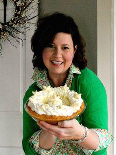 Karri and her Margarita Key Lime pie