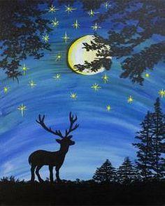 Bootleg Paint Nite on Pinterest | Tree Canvas Paintings, Acrylic ...