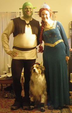 ~RoB-ing the Line: Homemade-ish Shrek Costume