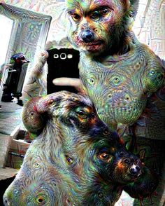 #yes #supertrippy #google #deep #dream #code  #deepdream #see #you #the #wolfs in my #arm ? #more #intensive  @google_deep_dream #ki by self_eater