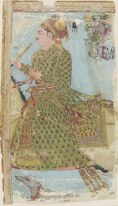 Maharaja Ajit Singh of Marwar (r. 1679-1724) Riding