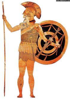 Hoplite | un hoplite hoplite hoplites grecs en phalange cours du jeudi