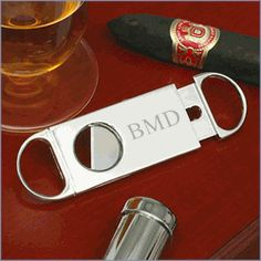 PERFECT Personalized Groomsmen Cigar Cutter - $14.95