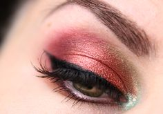 Makeup bunt smokey eyes