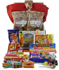 Retro Sweets Box Containing Over 1.1kg of Retro Sweet Favourites « Buy Online from thegadgethut.co.uk