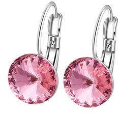Stunning Swarovski Crystal Drop Earrings #swarovski #earrings #jewelry #jewellery #etsy #drop