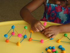 Play dough ideas: Match Sticks