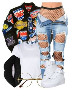 A fashion look from April 2017 by miizz-starburst featuring RE/DONE, NIKE, Retrò and Lime Crime Swag Outfits For Girls, Teenage Girl Outfits, Cute Casual Outfits, Teen Fashion Outfits, Dope Outfits, Stylish Outfits, Boho Fashion, Fashion Dresses, Womens Fashion