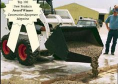 Miscellaneous Attachments - Material Handling Equipment Product Information - Concrete Placement Buckets for Skid-Steer Loader