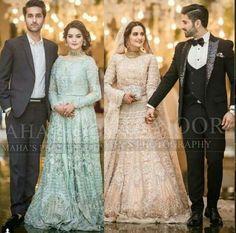 Bridal Mehndi Dresses, Pakistani Bridal Makeup, Wedding Dresses For Girls, Party Wear Dresses, Indian Bridal, Couple Wedding Dress, Wedding Outfits For Groom, Pakistani Wedding Outfits, Bridal Outfits