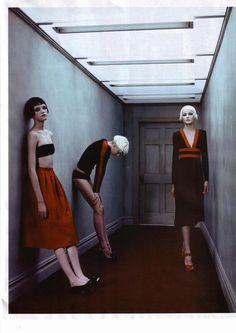 Steven Klein Magazines Lara Stone steven klein By Adolfo Vasquez Rocca //grungy