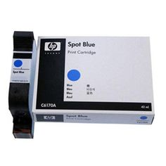 Genuine HP C6170A Blue Disposable Spot Color Print Cartridge