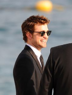 Robsten Dreams: Rob Pic of the Day ~  France looks good on Rob, but he really just looks good anywhere. -- Cannes May 2009