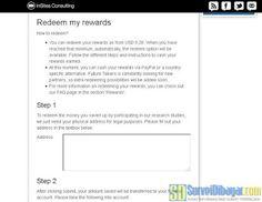 Mengisikan alamat lengkap sebagai syarat penukaran poin online survey Future Talkers | SurveiDibayar.com