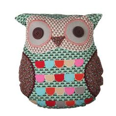 A great cuddling companion for mum. One of the biggest trends is the Sass & Belle patchwork owl cushions. This green owl Cushion with wooden button eyes will look amazing on her sofa. Funky Gifts, Cute Gifts, Owl Cushion, Cushion Pillow, Vintage Floral Fabric, Sass & Belle, Green Cushions, Pin Cushions, Owl Fabric