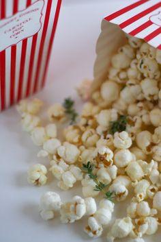 Parmesan & Thyme Popcorn