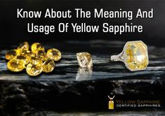 Once you choose to wear the Yellow Sapphire stone, you will have the desire to explore new ideas and new directions so that you become open to many new possibilities and taste the joy of life. Joy Of Life, Sapphire Stone, Meant To Be, Success, Gemstones, Explore, Yellow, Blog, Stuff To Buy
