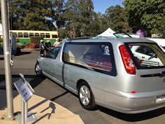 TJ Andrews Funerals hearse, at the Rookwood cemetery open day (2012)