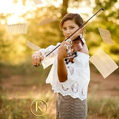 I'm wrapping up Kaitlyn's Gallery but had to stop and post this one. Love the look of intensity on her face! I'm not sure how she held this pose with her mom throwing sheet music her direction.  Fun senior session memories! (Class of 2018: November has one date available March has 5 dates available. Book by clicking the link in our Bio @kikiscornerphotography ) . . . #viola #sheetmusic #musician #orchestra #sunset #kikiscornerphotography #classof2018 #senioryear #seniorlovin #seniorinspire…