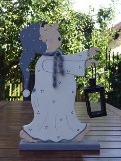 Декоративные предметы - лунатики с фонарем - один дизайн шт Creative древесины на DaWanda