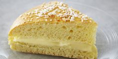 In episode Brioche of TV show Bake with Anna Olson prepares Anna Olson recipe for Tarte Tropezienne. Anna Olson, Food Network Canada, Instant Yeast, Round Cakes, Tray Bakes, Food Network Recipes, Asian Recipes, Vanilla Cake, Cake Recipes