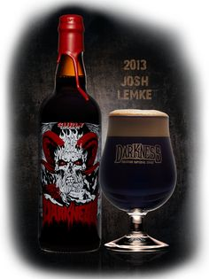 Darkness 2013 - Surly Brewing Co. I Like Beer, All Beer, Brewing Co, Packaging Design Inspiration, Craft Beer, Whisky, Beer Bottle, Darkness, Red Wine