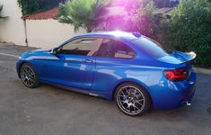 Angels Moving Autos Here is how we do it. #LGMSports transport it with http://LGMSports.com My new Estoril blue M235i A - M Perf mods + BBS CH-R