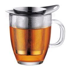 YO-YO SET   Кружка и чайное ситечко, 0.35 л, нержавеющая сталь Хром   Bodum Онлайн магазин   INTERNATIONAL RU