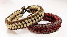 """Paracord Bracelet"""" """"Sanctified"""" Bracelet Design Without Buckle"""