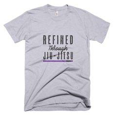 Refined Through Jiu-Jitsu [Purple Belt] - Short Sleeve T-shirt