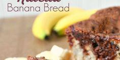 Nutella Banana Bread Recipe SixSistersStuff