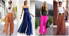 Taller N° 50 Pantalón dama, modelo Palazzo, Moldes   Modistería Básica Palazzo, Prom Dresses, Formal Dresses, Cool Style, Outfits, Womens Fashion, People, Couture, Money