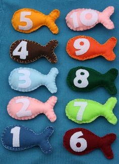 Go Fish - Magnet Fishing Game - 10 piece set