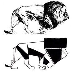 Lion Stylization Exercise by HikariMichi