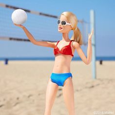 Post Date: Wednesday, August Edlyn please note missing volleyball emoji Bump, set, spike! A Cali girl's favorite sport. Barbie Life, Barbie World, Barbie And Ken, Hello Barbie, Barbie Style, Doll Clothes Barbie, Barbie Dress, Poupées Barbie Collector, Barbie Tumblr