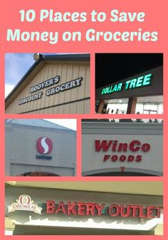 You can lower your grocery bill without coupons. 10 places to save money on groceries. Save Money On Groceries, #SaveMoney