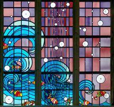 Vitraux de Joël Mône à Romilly/Seine | Flickr - Photo Sharing!