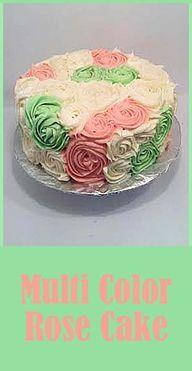 Easter Rose Cake - m