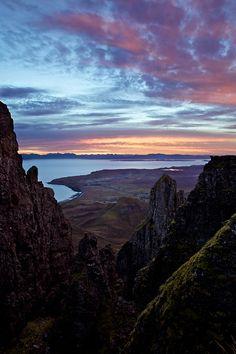 ~~Sawtooth Canyon Sunrise ~ Quiraing, Isle of Skye, Scotland by Marcus McAdam~~