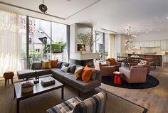 41 Bond building in Manhattan features Austrian Oak Plank Floors by Arrigoni Woods