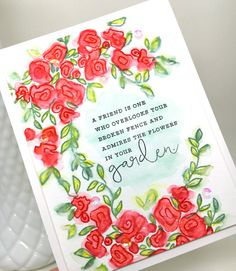Hi there and good morning! I've got another card for the Papertrey Ink Stamp-a-Faire  that I'm sharing today. For this card I used the...