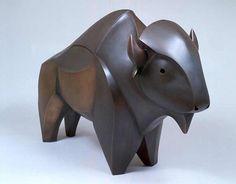 Allan Houser Fabricated Buffalo