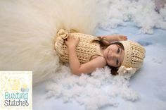 Crochet Winter Princess Dress and Hat with FREE Pattern