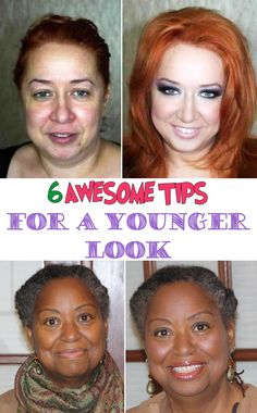 6 awesome tips for a Younger Look | Beauty Tutorials