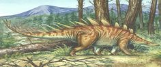 Kentrosaurus --- Site officiel : http://www.dinosauria.ca/